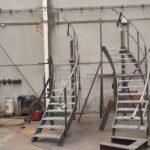 escaleras Helicoidales para tanque Gijón